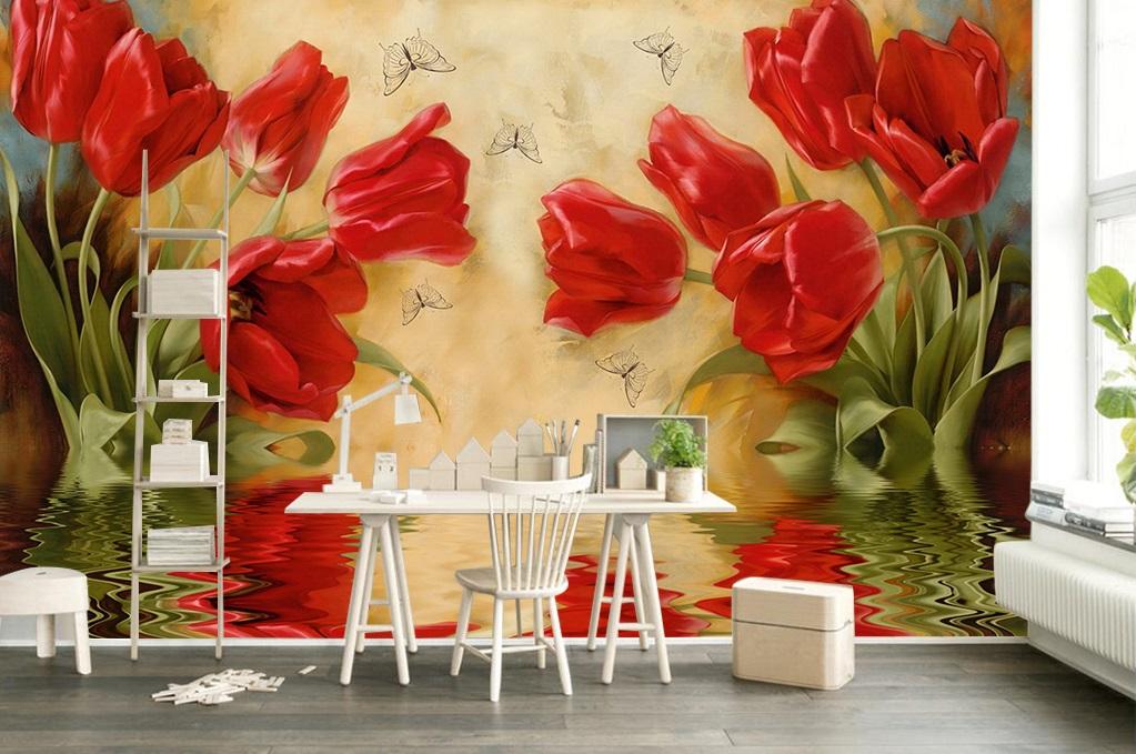 家装墙体彩绘素材