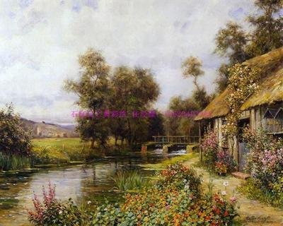 手绘风景油画