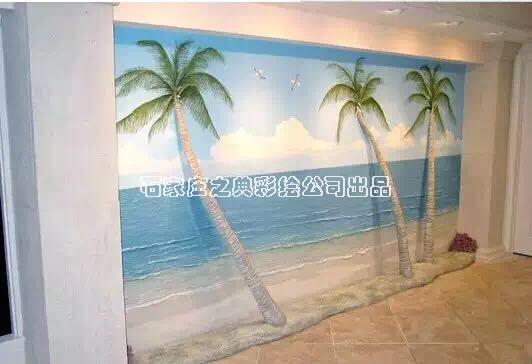 墙面3D浮雕壁画