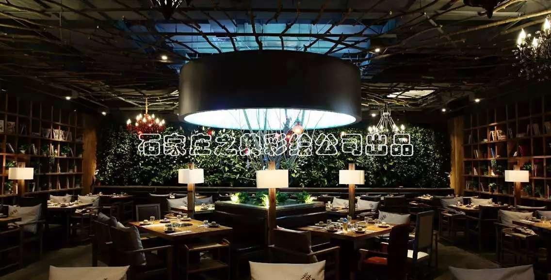 火锅店墙体彩绘 主题餐厅手绘 石家庄之典彩绘公司出品
