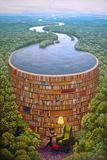 波兰画家Jacek Yerka的奇幻世界