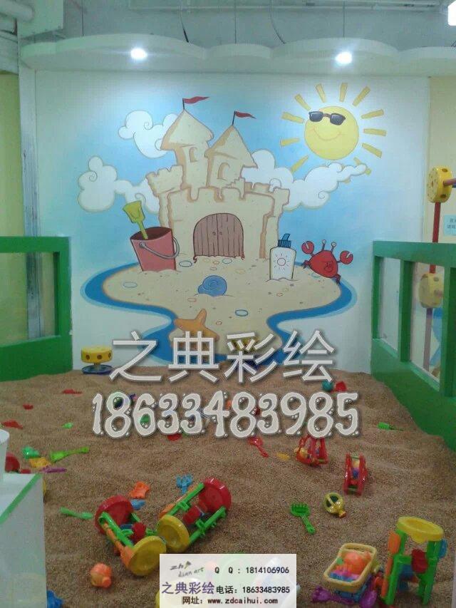 幼儿园室内墙体彩绘案例 - ▊石家庄之典墙体彩绘壁画