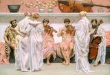 唯美复古手绘油画