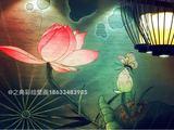 胜芳渝盛渝蓝餐厅墙绘壁画-之典彩绘最新案例