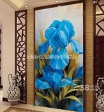 3d玄关手绘壁画墙体彩绘