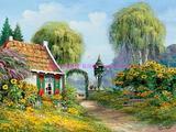 田园风景油画