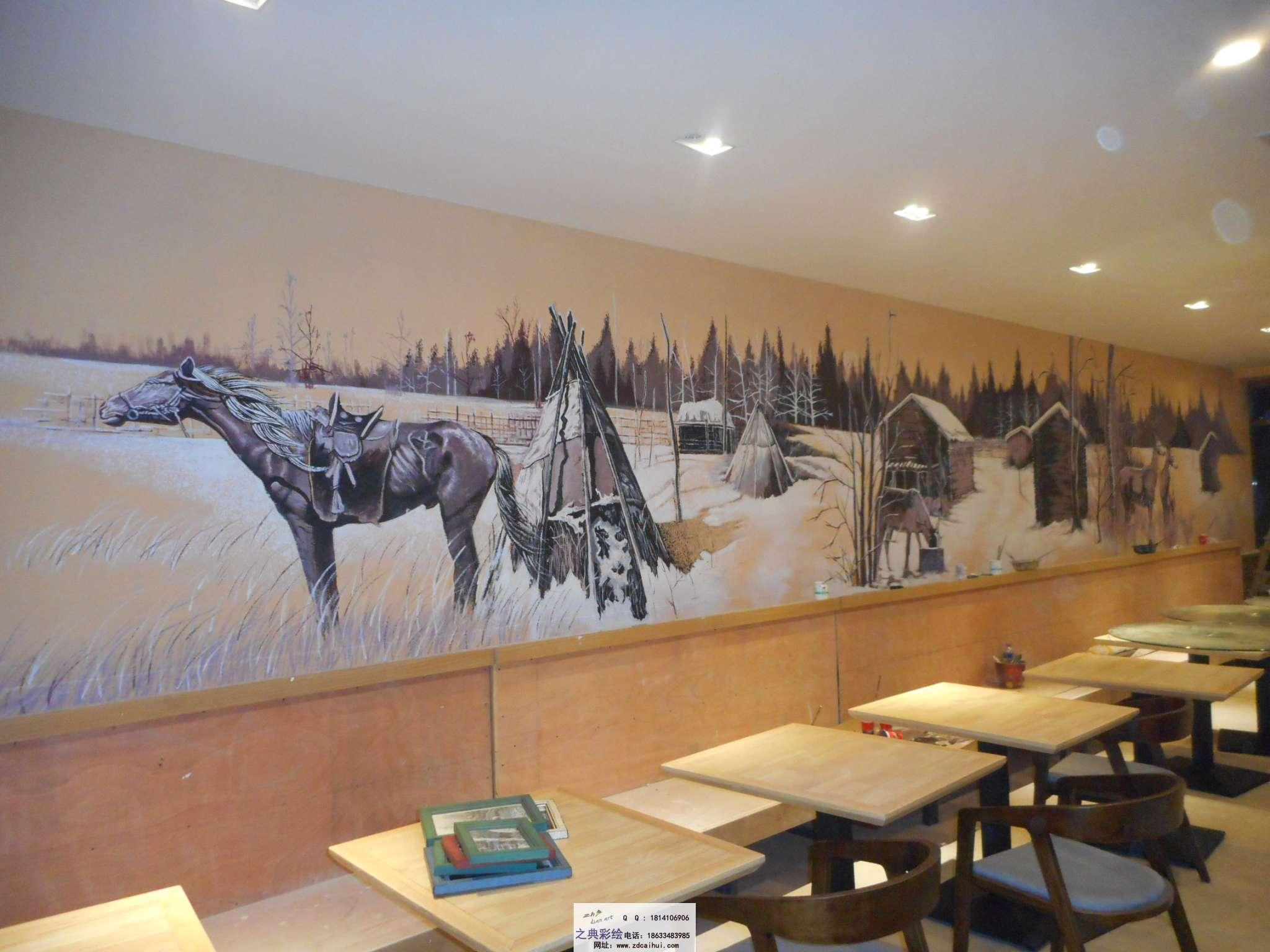 3d墙体彩绘图片大全