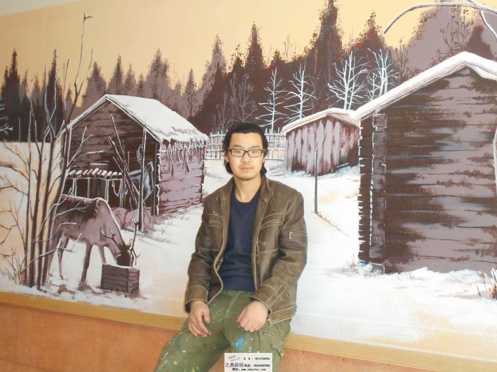 涿州八旗羊汤主题彩绘