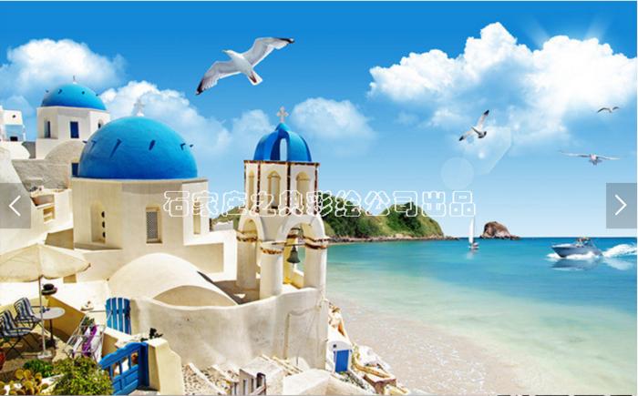 地中海墙绘